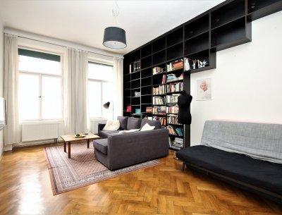 Byt 3+kk, 76 m2, OV, Praha 3 - Žižkov