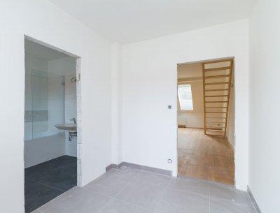 Mezonetový byt 1+kk (2+kk) 58 m2 ve Všenorech u Prahy, Rezidence Sladovna
