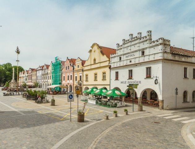 Hotel v centru Třeboně, UP 2000 m2, pozemek 1373 m2