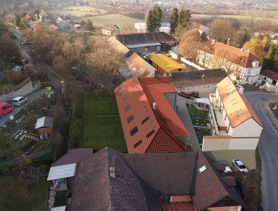 Mezonetový byt 1+kk (2+kk) 55 m2 ve Všenorech u Prahy, Rezidence Sladovna