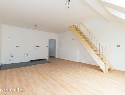 Mezonetový byt 1+kk (2+kk) 68 m2 ve Všenorech u Prahy, Rezidence Sladovna